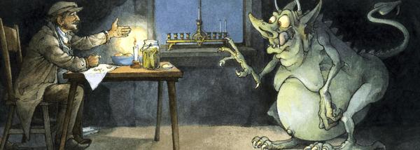 Herschel und die Channukka Kobolde, Illustration