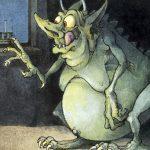 Herschel und die Channukka Kobolde, Illustration, Ausschnitt