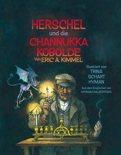 Herschel und die Channukka Kobolde, Cover