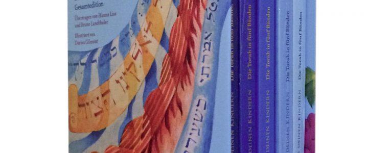 Torah Gesamtedition- Die Fünf Bücher Mose mit Kommentaren und Illustrationen